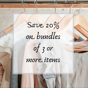 Accessories - READ THIS - HOW TO BUNDLE AND SAVE!